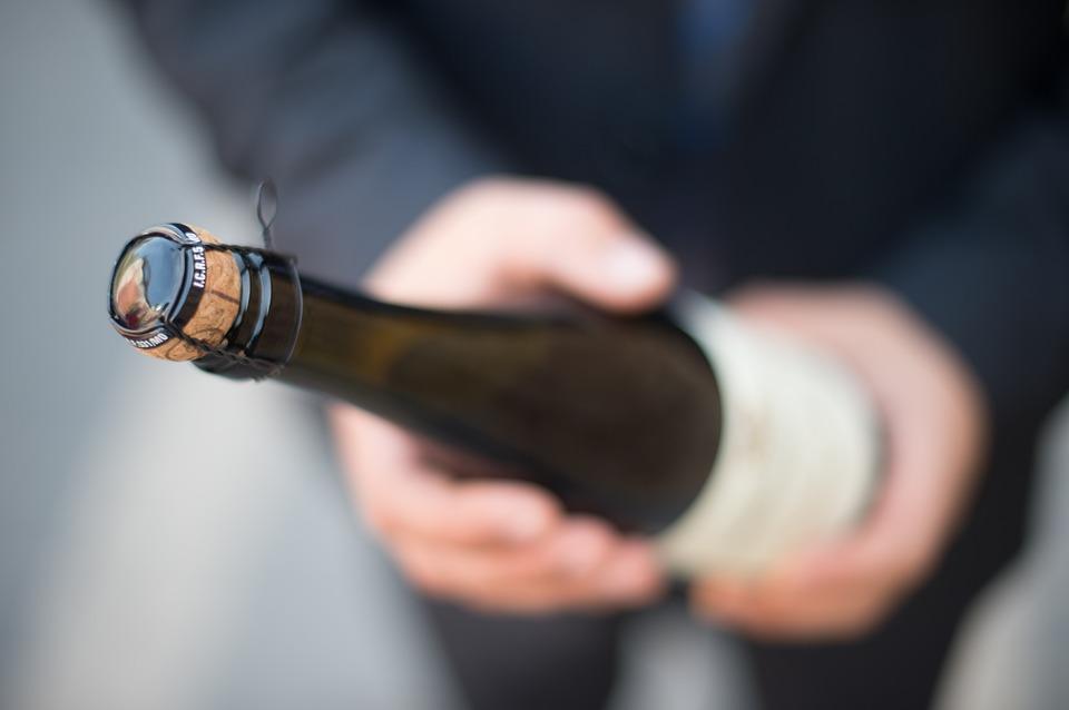 magzat mérete - pezsgősüveg