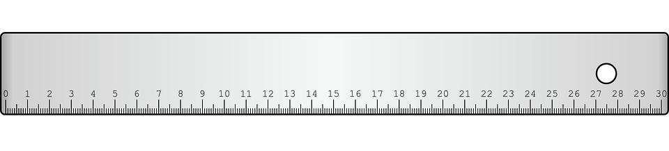 magzatmérete - vonalzó