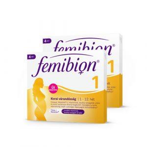 Femibion 1 Korai várandósság filmtabletta + kapszula 28x + 28x