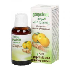Grapefruit cseppek ginsenggel