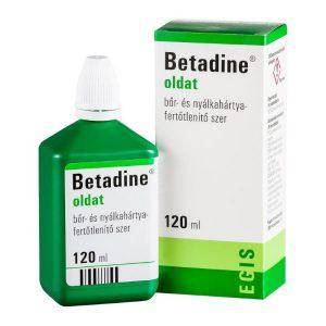 Betadine oldat 120ml
