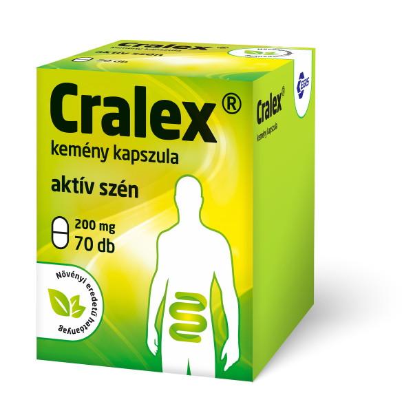 Cralex kapszula 70x